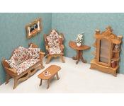 Living Room - Dollhouse Furniture Kit