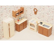 Kitchen - Dollhouse Furniture Kit