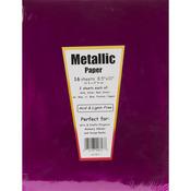 """Metallic - Specialty Paper 8.5""""X11"""" 16/Pkg"""