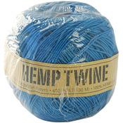 Blue - Hemp Cord 20# 400'/Pkg