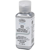 Silver - Aztek Airbrushable Pearl Acrylic Paint 2oz