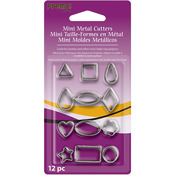 Geometric - Premo Mini Metal Cutters 12/Pkg