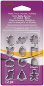 Holiday - Premo Mini Metal Cutters 12/Pkg