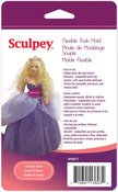 Woman Doll - Sculpey Flexible Push Mold