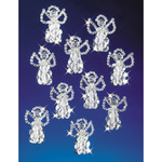 "Little Angels 2.5"" Makes 18 - Holiday Beaded Ornament Kit"