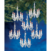 Christmas Chandeliers - Holiday Beaded Ornament Kit