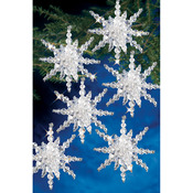 Snow Cluster - Holiday Beaded Ornament Kit