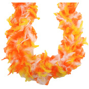 Candy Corn - Chandelle Feather Boa 72""