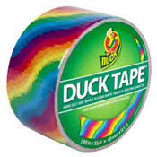 Rainbow Patterned Duck Tape