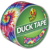 Love Tie Dye Patterned Duck Tape