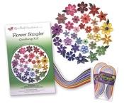 Flower Sampler - Quilling Kit
