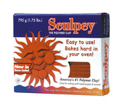 Terra Cotta - Sculpey Original Polymer Clay 1.75lb