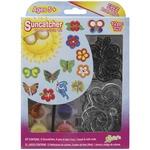 Butterfly & Flowers 12/Pkg - Suncatcher Group Activity Kit