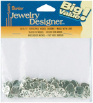 Silver Made With Love - Metal Charms 75/Pkg