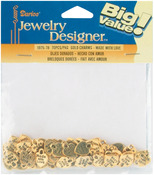 Gold Made With Love - Metal Charms 75/Pkg
