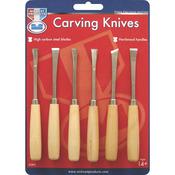 6pcs - Carving Knife Set
