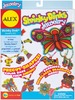 Jewelry - Shrinky Dinks Kit ALEX TOYS-Shrinky Dinks Kit: Jewelry.  This is the perfect kit for the up-and-coming jewelry designer!  Includes over forty pre-cut shapes, eight colored pencils, beads, earring hoops, barrettes, string, clasps, adhesive dots and instructions.  Shapes are pre printed and require no tracing or cutting.  Contents may vary.  Conforms to ASTM D4236.  Recommended for ages 5 and up.  WARNING: Choking Hazard: not for children under 3.  Imported.
