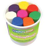 Assorted Colors - Modeling Dough Bucket Assortment 4oz 8/Pkg