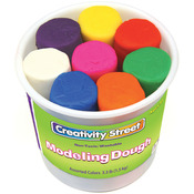 Assorted Colors - Modeling Dough Bucket Assortment 4oz 8/Pkg