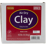 Terra Cotta - Air Dry Modeling Clay 10 Pounds
