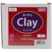 White - Air Dry Modeling Clay 10 Pounds