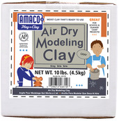 Gray - Air Dry Modeling Clay 10 Pounds