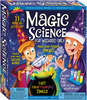 Scientific Explorers Magic Science Kit ELMER'S PRODUCTS-Scientific Explorer: Magic Science For Wizards. This exceptional series of home science kits is based on the nationally recognized Great Explorations in Math and Science (GEMS) program pioneered at UC Berkley's Lawrence Hall of Science. Acclaimed for excellence as a teaching resource.  Ten magical activities including make your own Wizard wand!  This package contains 3oz/84g citric acid, 2oz/56g baking soda, 2oz/59ml vegetable oil, 1oz/28g polyacrylamide, 0.25oz/7g red cabbage juice powder, 0.07oz/2g zinc sulfide, twelve color tablets, five full-color magic cards, four test tubes and stand, a wizard want and two caps, one small scoop, one medium scoop, one sheet of star stickers, one purple paper, one goldenrod paper, and science activity guide.  Recommended for children ages 8 and up.  Imported.