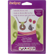 Cabochon - Sculpey Silicone Bakeable Mold