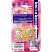 Squares Gold & Silver - Be Dazzler Stud Refill 200/Pkg