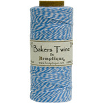 Blue - Cotton Baker's Twine Spool 2 Ply 410'/Pkg