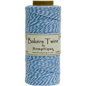 Blue - Cotton Baker's Twine Spool 2 Ply 410'/Pkg