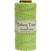 Lime - Cotton Baker's Twine Spool 2 Ply 410'/Pkg