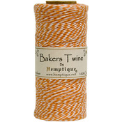 Orange - Cotton Baker's Twine Spool 2 Ply 410'/Pkg
