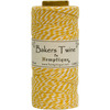 Yellow - Cotton Baker's Twine Spool 2 Ply 410'/Pkg