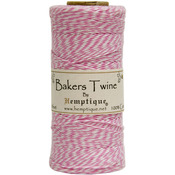 Light Pink - Cotton Baker's Twine Spool 2 Ply 410'/Pkg