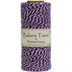 Purple - Cotton Baker's Twine Spool 2 Ply 410'/Pkg