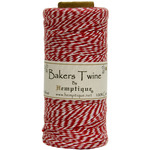 Red - Cotton Baker's Twine Spool 2 Ply 410'/Pkg