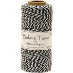 Black - Cotton Baker's Twine Spool 2 Ply 410'/Pkg