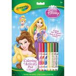 Disney Princess - Crayola Coloring & Activity Set