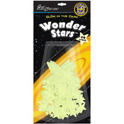 Wonder Stars 40/Pkg - Glow In The Dark Pack
