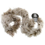 Coffee Cream Mix - Marabou Feather Boa Multicolor Medium Weight 72""
