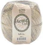 Natural - Hemp Cord #48 400'/Pkg