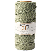 Dusty Olive - Hemp Cord Spool 20lb 205'/Pkg