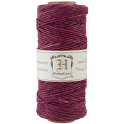 Burgundy - Hemp Cord Spool 20lb 205'/Pkg