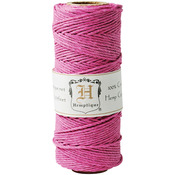 Bright Pink - Hemp Cord Spool 20lb 205'/Pkg