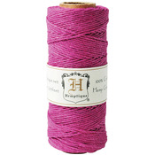 Dark Pink - Hemp Cord Spool 20lb 205'/Pkg