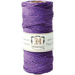 Dark Purple - Hemp Cord Spool 20lb 205'/Pkg