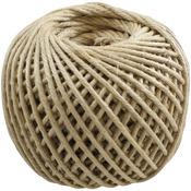 Natural - Jute Rope 4 Ply 100yd/Spool