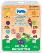 Tropical - Sculpey Pluffy Clay Variety Packs