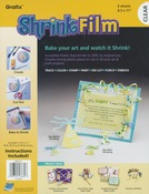 "Clear - Shrink Film 8.5""X11"" 6/Pkg"